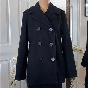 GAP Black Pea Coat